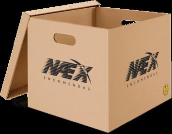 Caixa da Naex Encomendas
